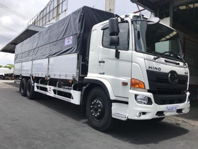 Giá xe tải Hino cập nhật tháng 8/2018 - 1