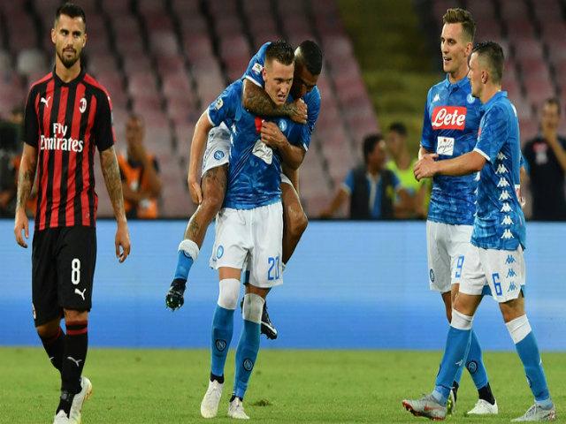 Napoli - AC Milan: Ngược dòng siêu đẳng, 5 bàn mãn nhãn
