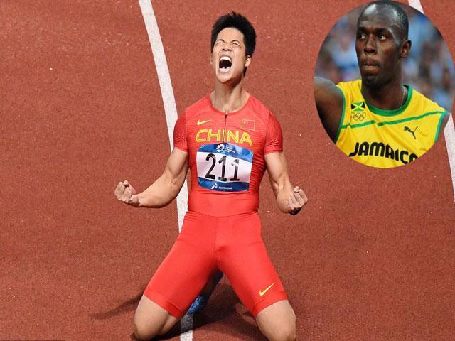 Siêu VĐV Trung Quốc chạy nhanh nhất châu Á có gần bằng Usain Bolt?