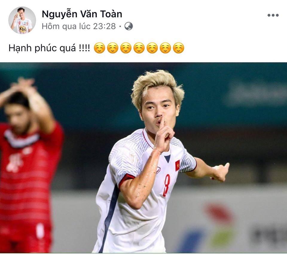 U23 VN vào bán kết: Status của Quang Hải, Văn Toàn, Tiến Dũng khiến triệu fan ấm lòng - 1