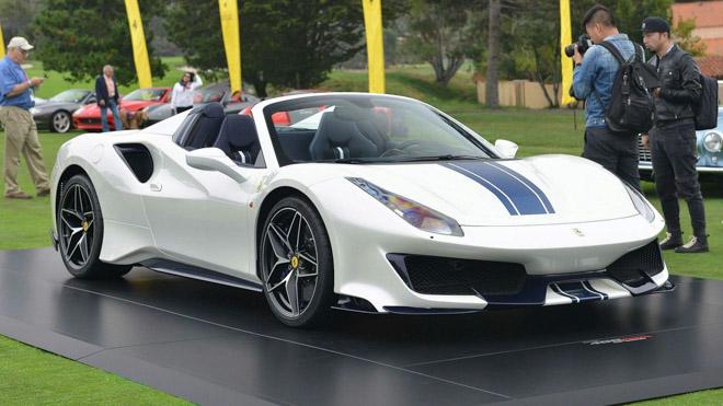 Ferrari ra mắt 488 Pista Spider: Siêu xe mui trần thứ 50 của Ferrari - 1
