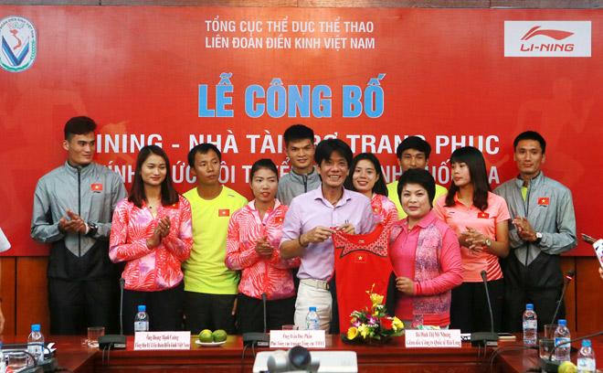 Li-Ning đồng hành cùng Điền kinh Việt Nam chinh phục ASIAD 2018 - 1