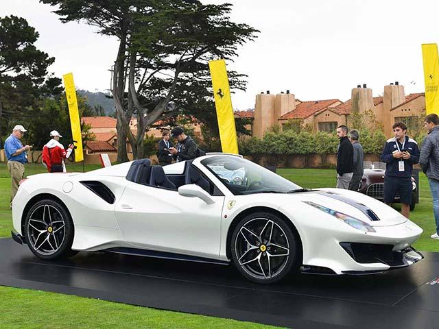 Ferrari ra mắt 488 Pista Spider: Siêu xe mui trần thứ 50 của Ferrari