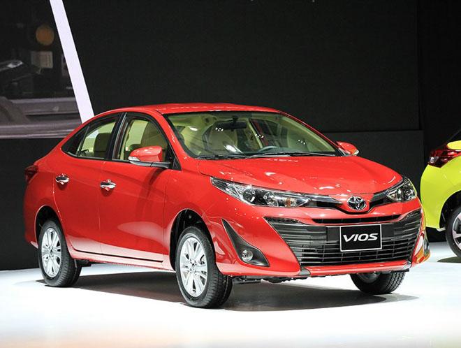 Giá xe Toyota Vios cập nhật tháng 10/2018: Phiên bản Vios số sàn giá từ 531 triệu đồng - 1