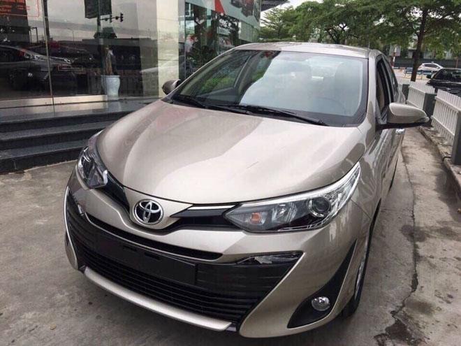 Giá xe Toyota Vios cập nhật tháng 10/2018: Phiên bản Vios số sàn giá từ 531 triệu đồng - 2