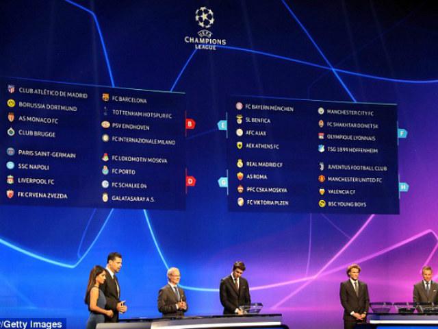 """Bốc thăm cúp C1: MU đụng độ Ronaldo - Juventus, Liverpool bảng """"tử thần"""""""