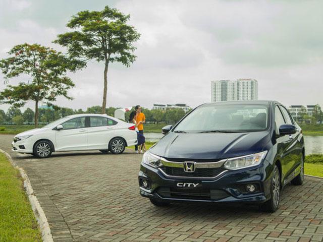 Giá xe Honda City cập nhật tháng 9/2018