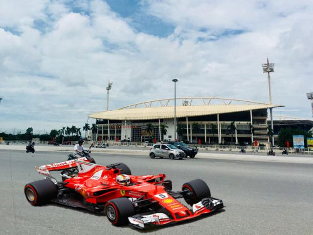 Hanoi proposes to organize F1 races: organizers make very strict requirements