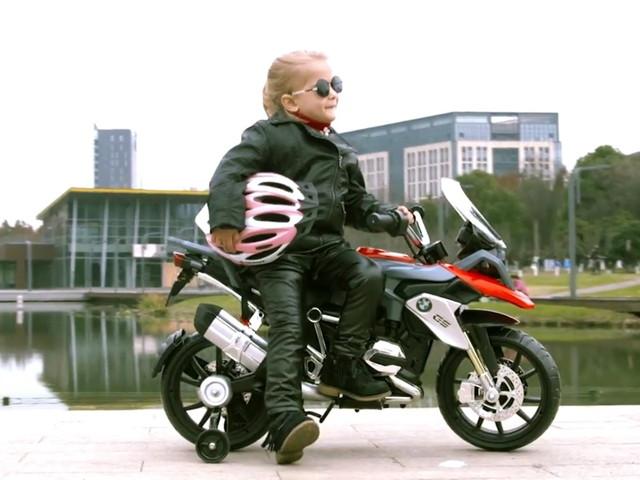 """BMW R 1200 GS """"bé hạt tiêu"""" cho tay đua nhí"""