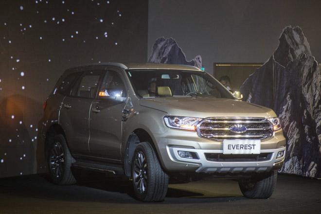 Giá xe Ford cập nhật tháng 10/2018: Ford Everest hoàn toàn mới giá từ 1,12 tỷ đồng - 1