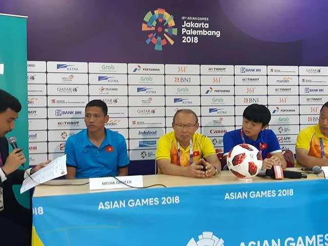 HLV Park Hang Seo: U23 Việt Nam còn nhiều thiếu sót nhưng có thể tiến bộ hơn