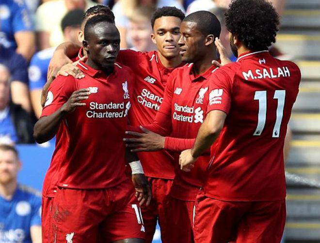 """Leicester - Liverpool: Hiệp 1 tưng bừng, hú vía """"thảm họa"""" thủ môn - 1"""
