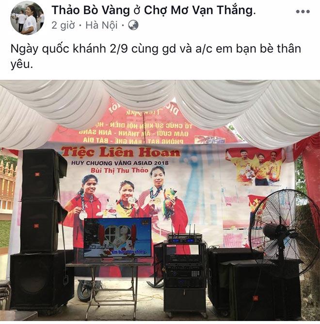 Người hùng ASIAD của thể thao Việt Nam về quê: Mở tiệc đãi khách - 1