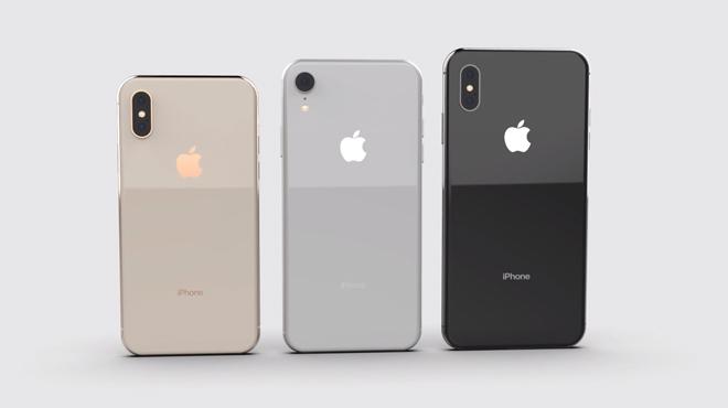 NÓNG: Xác nhận ngoại hình chuẩn của bộ ba iPhone X 2018 - 1