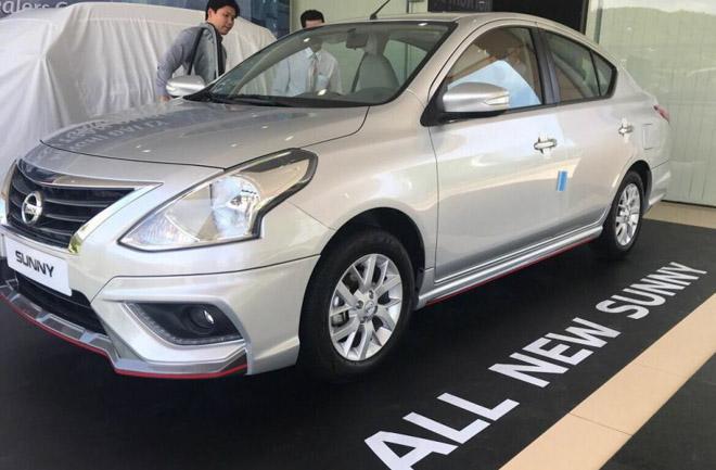 Nissan Sunny 2018 Thế Hệ Mới Bất Ngờ Xuất Hiện Tại Việt Nam