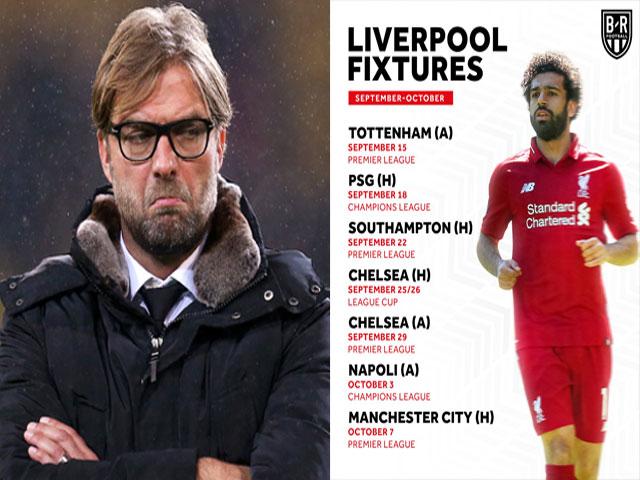 """Liverpool 3 ngày/trận gặp toàn hàng """"khủng"""": Chờ tài Jurgen Klopp"""