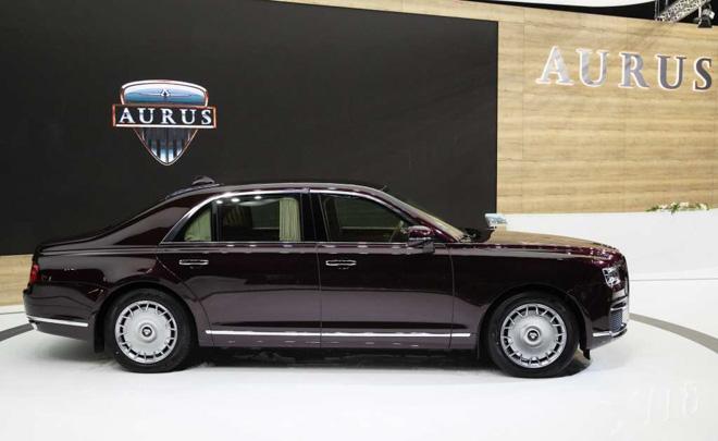 """Ảnh thực tế Aurus Senat - """"Rolls Royce"""" của nước Nga - 2"""