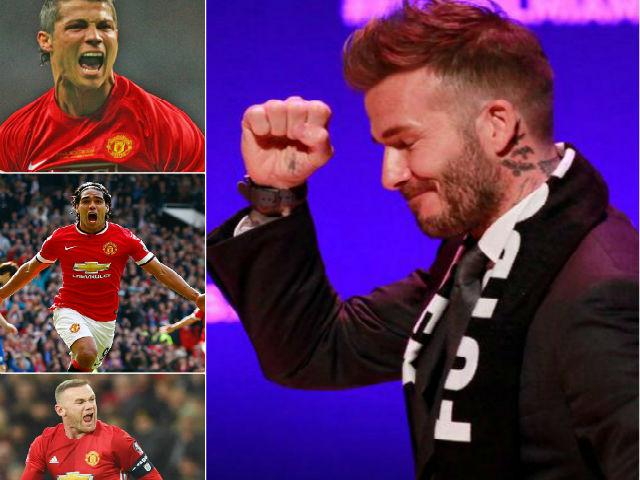 Sếp Beckham xây siêu đội hình: Ronaldo và dàn tinh tú MU hội tụ