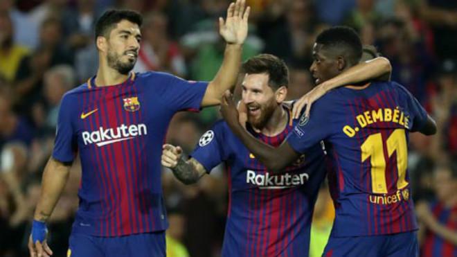 """Barca – Real công phá La Liga: 2 """"đinh ba"""" MSD & BBA bá đạo thế nào? - 1"""