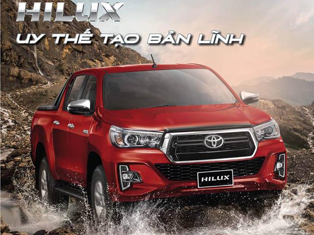 """Toyota Hilux 2018: Đã """"ngon"""" nay càng """"ngon"""" hơn với 7 túi khí"""
