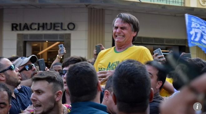 Ứng viên tổng thống Brazil bị đâm trọng thương ở nơi công cộng - 1