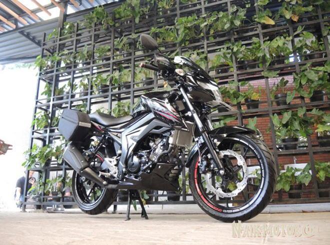 """Suzuki có thêm bản GSX150 Bandit Touring, Honda Winer """"thấp thỏm"""" - 1"""