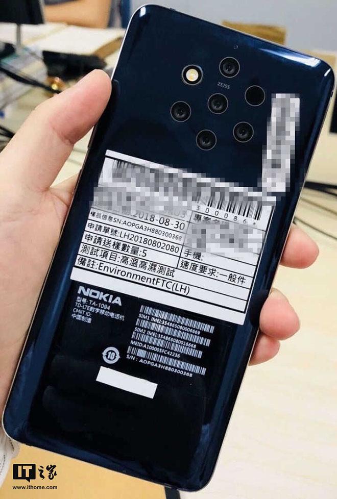 Ảnh Nokia 9 với 5 camera phía sau là cơn ác mộng cho Google - 1