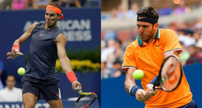 US Open ngày 12: Nadal cảnh giác Del Potro, Djokovic tái đấu Nishikori - 1