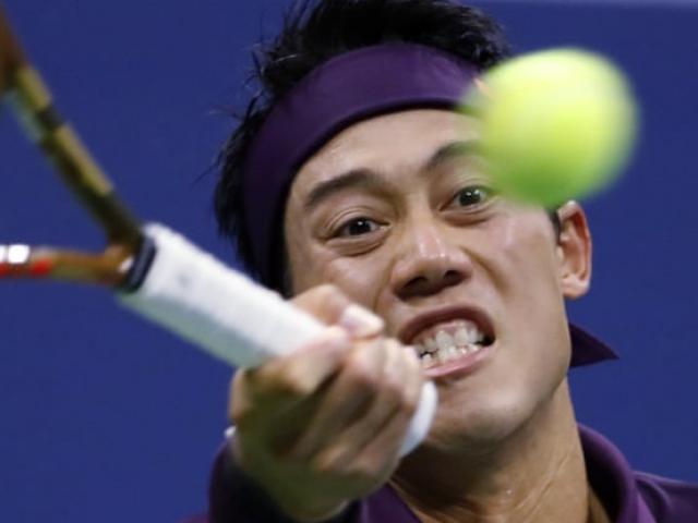 Clip hot US Open: Djokovic chơi hiểm, Nishikori phản đòn hiểm hơn