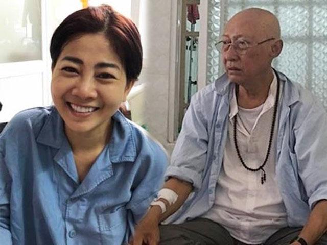 Cát Phượng thông báo tin vui về sức khoẻ của Mai Phương, Lê Bình