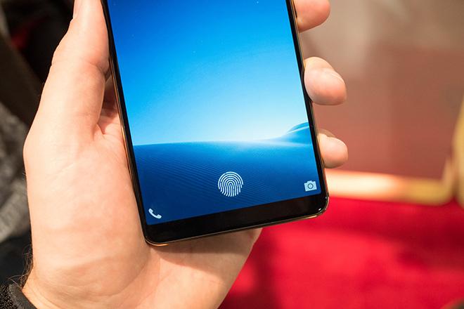 Tháng sau sẽ có smartphone nhúng cảm biến vân tay trong màn hình từ Samsung? - 1