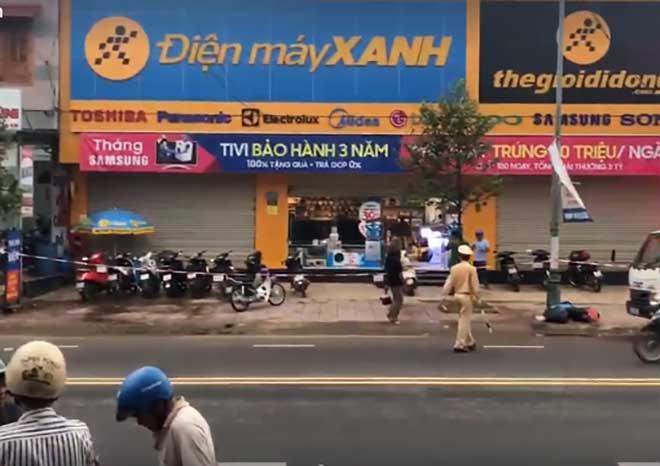 Nữ quản lý siêu thị Điện Máy Xanh bị bảo vệ đâm chết - 1