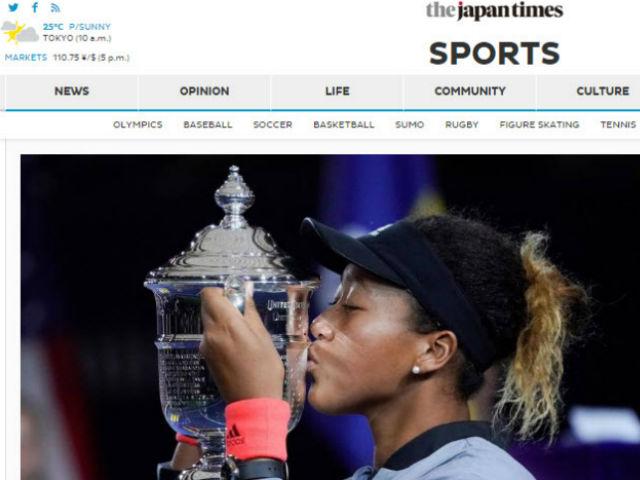 Osaka 20 tuổi hạ Serena vô địch US Open: Báo Nhật sửng sốt, tôn vinh vĩ đại