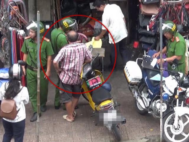 Bình Thạnh thông tin về tổ CSTT bên hông chợ Bà Chiểu