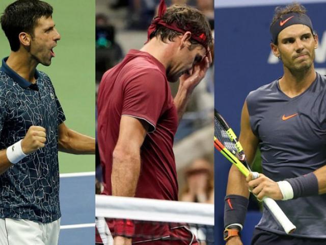 Nadal chấn thương, Federer chậm lại: Ngôi số 1 chờ Djokovic