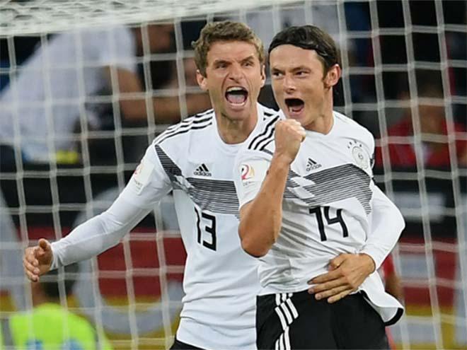 Đức - Peru: Lính mới lập công, may mắn phút 85 - 1