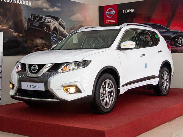 Giá xe Nissan X-Trail cập nhật tháng 9/2018: X-Trail V-Series ra mắt giá từ 976 triệu đồng