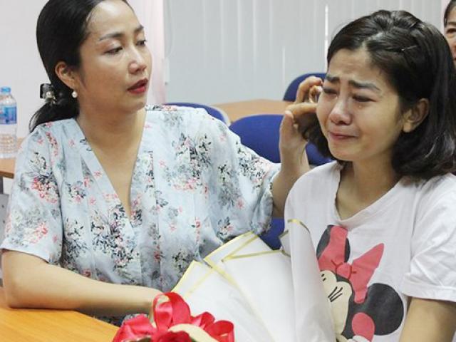 Những hình ảnh đầu tiên của diễn viên Mai Phương sau 3 ngày xuất viện trở về nhà