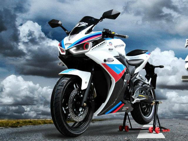 HOT: Môtô điện đẹp như Yamaha YZF-R3, giá 28 triệu đồng