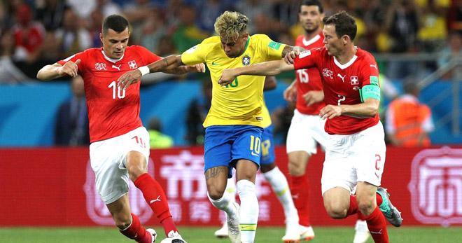 Brazil - El Salvador: Điệu samba cuồng say, Neymar lại nhảy múa - 1