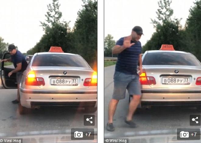 Nga: Ném chai nước xuống đường, bị trừng phạt ngay lập tức - 1
