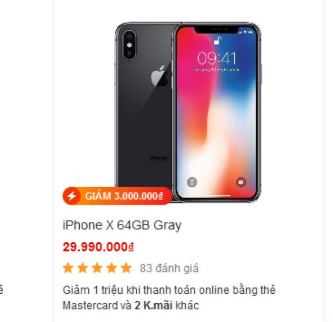iPhone đồng loạt giảm sốc ở Việt Nam khi iPhone Xs, XS Max trình làng - 1