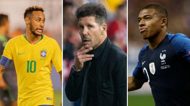 Atletico đòi phế Real: Mơ mộng Neymar, chê Mbappe ích kỉ như Ronaldo - 1