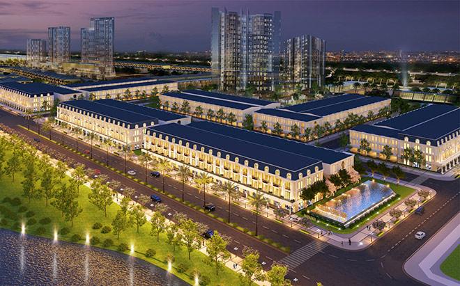 Homeland Group ra mắt dự án khu phố thương mại Châu Âu Shophouse - 1