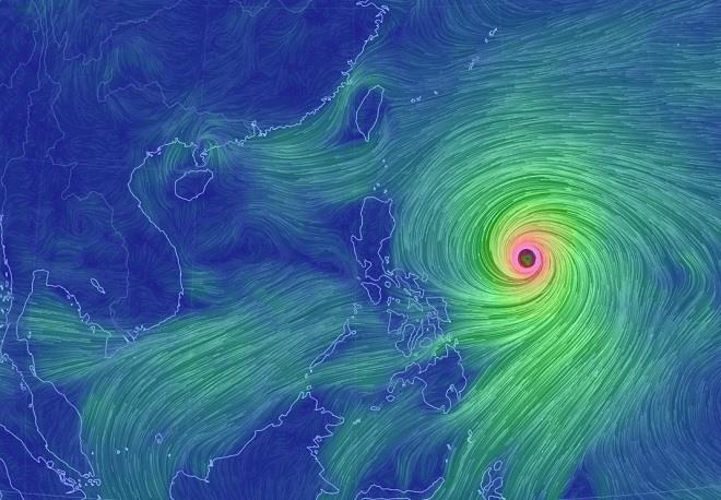 Siêu bão MANGKHUT di chuyển thần tốc, khả năng cao ảnh hưởng nước ta - 1
