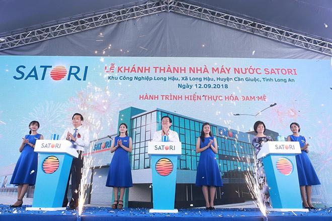 Satori chính thức khánh thành Nhà máy sản xuất nước mở rộng chiến lược kinh doanh - 1