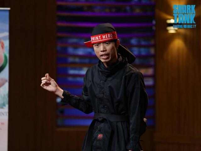 """""""Ninja Việt"""" đi gọi vốn khiến các shark đồng loạt """"ức chế"""""""