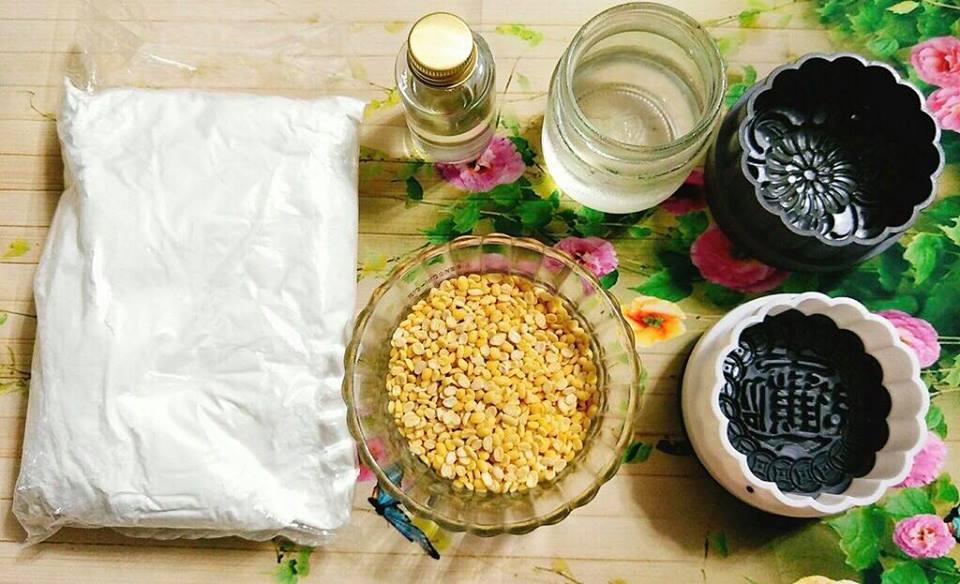 Cách làm bánh trung thu chay không cần lò nướng vẫn chuẩn vị - 1