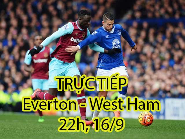 Chi tiết Everton – West Ham: Xà ngang từ chối chủ nhà (KT)