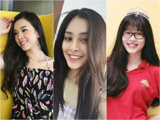 Dung mạo đời thường tuyệt xinh của Top 3 Hoa hậu Việt Nam 2018